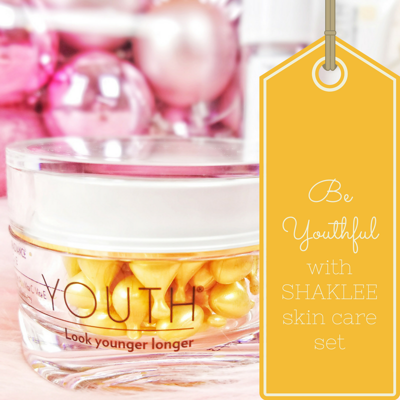 BE BEAUTIFUL, BE YOUTHFUL WITH SHAKLEE SKIN  CARE SET
