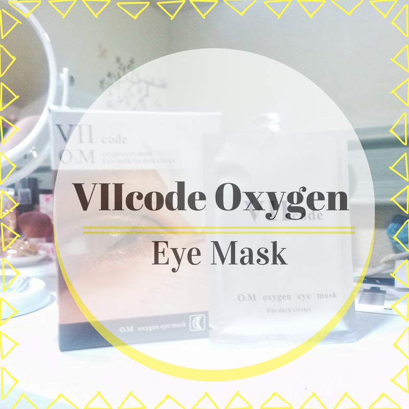 VIIcode Oxygen Eye Mask