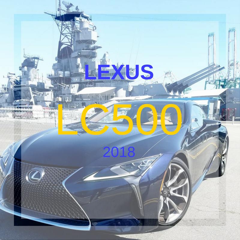 LEXUS LC500 2018