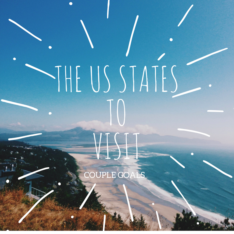 The US States To Visit for Couples